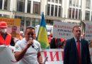 «УКРАВтодор» вкрав у нас 100 мільярдів, ми втратили 2000 кілометрів доріг. Акція протесту проти картельної змови у Київі